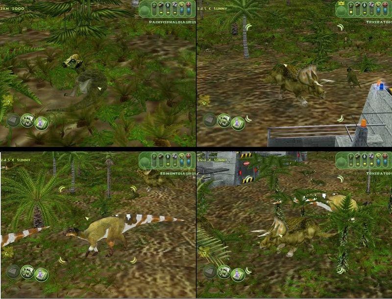 Realistic Hellcreek B Skin Pack Jurassic park, Jurassic