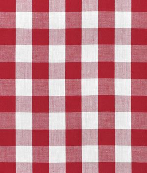 PLAIN DYE RED POLYCOTTON FABRIC for CHRISTMAS crafts tablecloths sacks