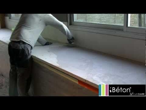 Réaliser un sol en béton ciré coulé - Tuto bricolage de Robert pour - maison en beton coule