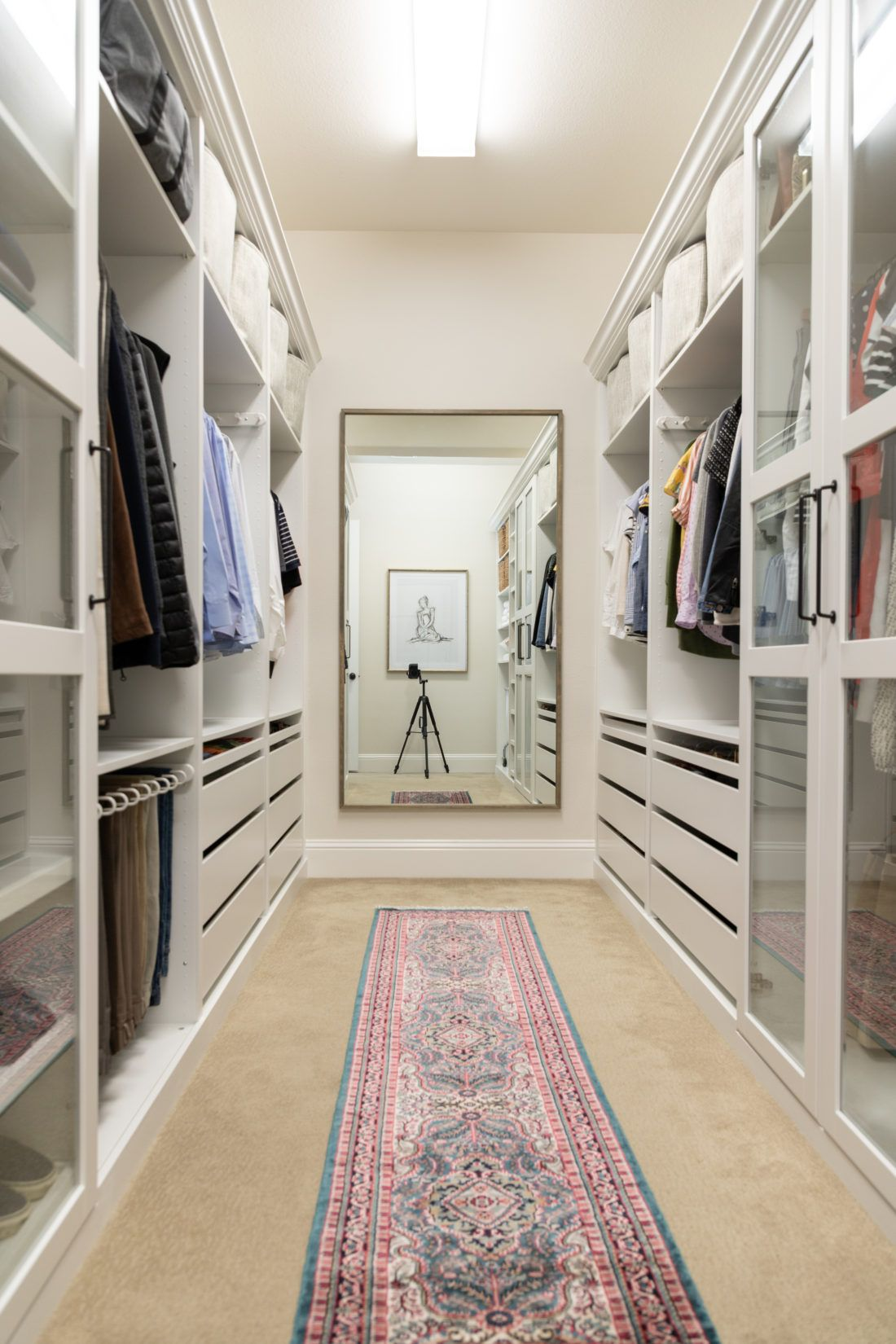 Walk In Closet Makeover With Ikea Pax Ikea Closet Hack Bedroom Closet Design Closet Hacks