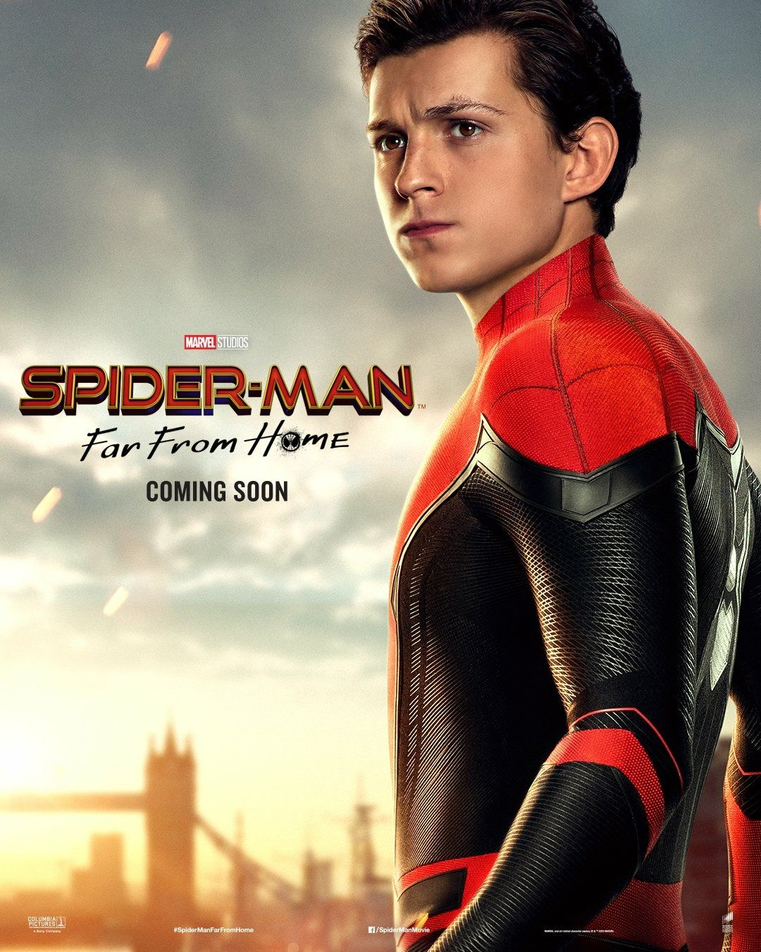 Spider Man Far From Home Peter Parker Tom Holland Spiderman Avengers