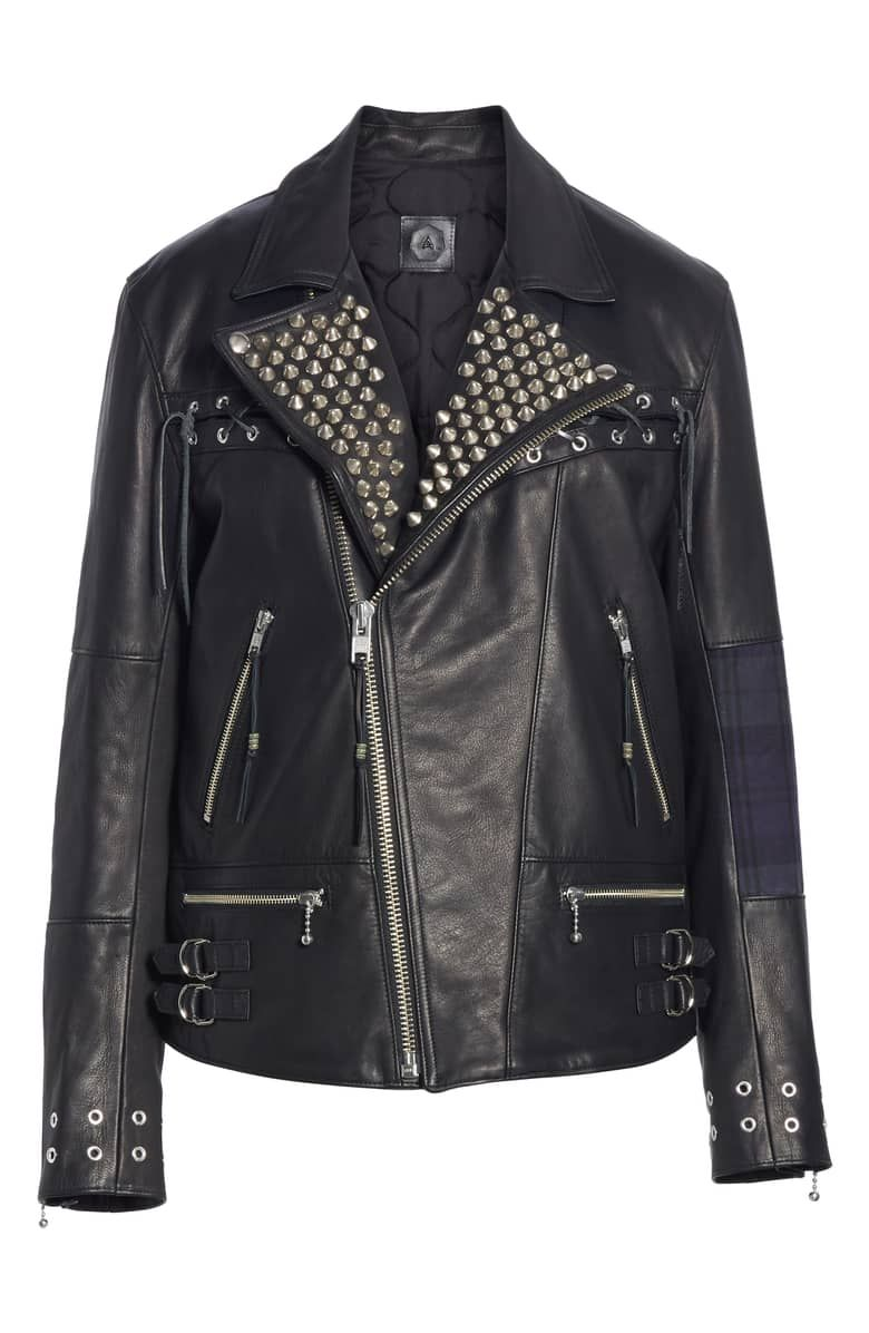 Alchemist The Bad Brain Blackmeans Leather Jacket Nordstrom Leather Jacket Jackets Bad Brain [ 1196 x 780 Pixel ]