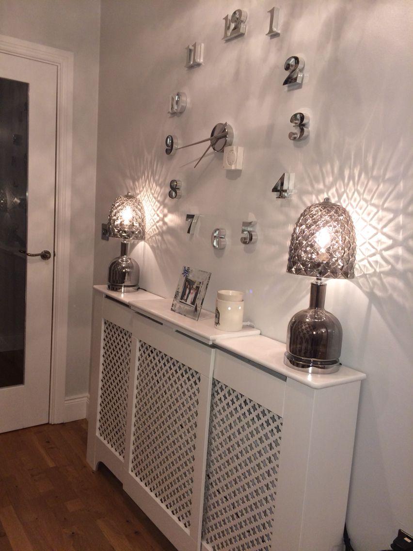 Hallway Radiator Cover Wall Clock Lamps Home Decor Room Decor Decor