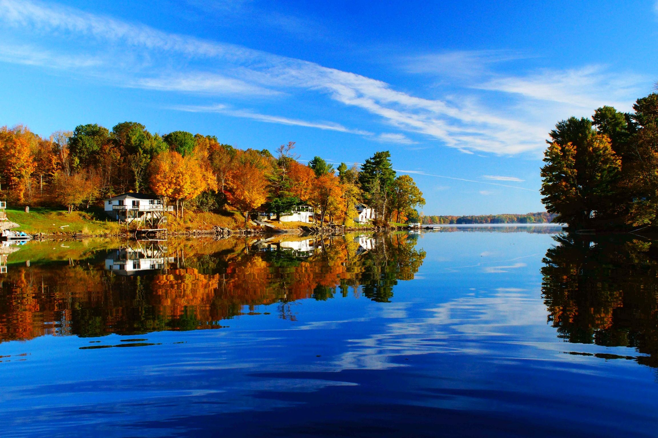 Bobs Lake, Ontario, on a Oct. day | Places I Love | Canada ...
