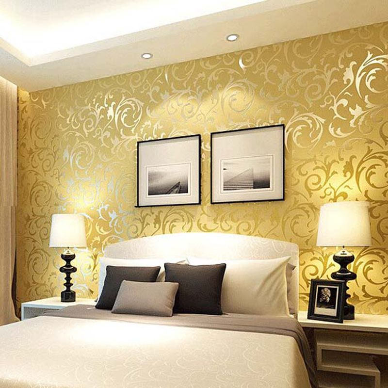 Bedroom wallpaper bedroom wall paper wallpaper for for Wallpaper decorating ideas