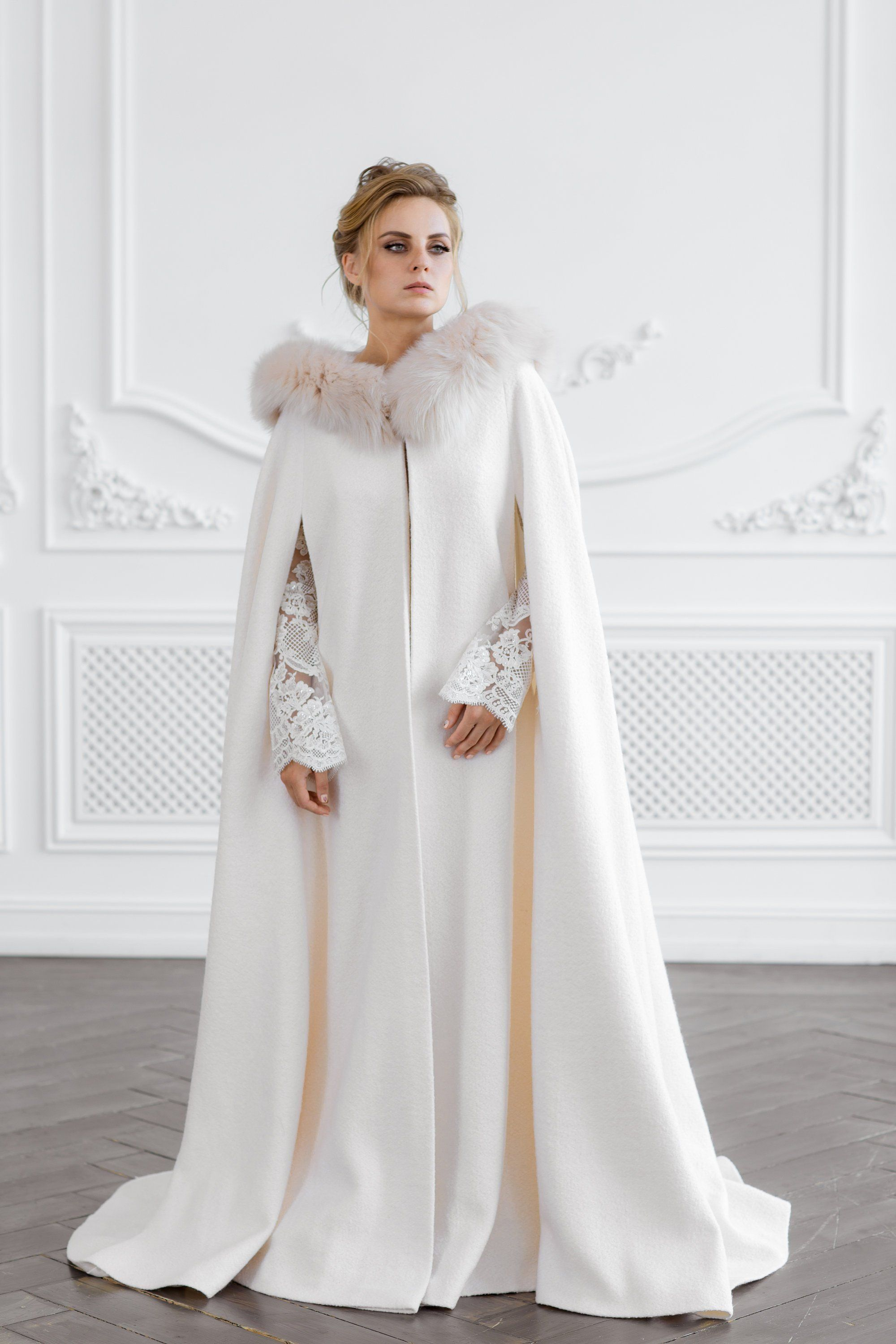 24 Chic & Cosy Cover Ups for Brides Wedding coat, Winter