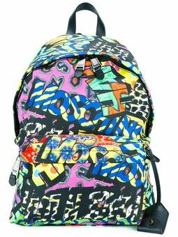 3bd0d89a84e7 Graffiti Prints, Moschino Bag, Men's Backpacks, Men's Bags, Men Bags, Men's