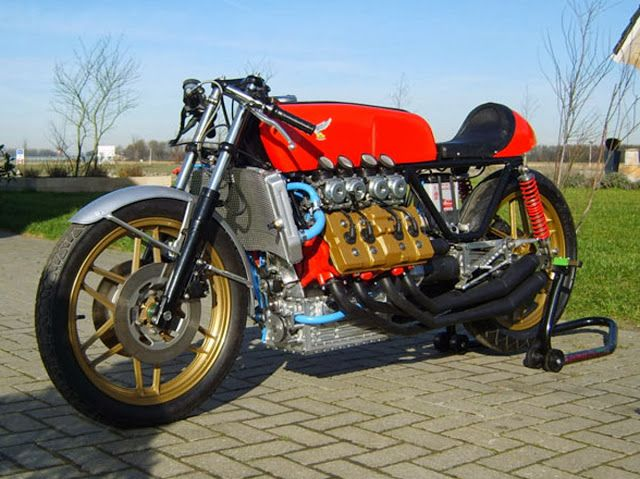 honda v8 cafe racer | wheels, wings, and rudders | pinterest