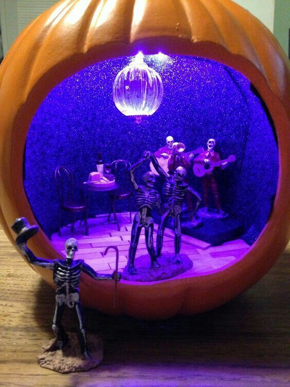 Citrouille D'Halloween #sculpturesdecitrouille