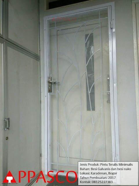 Pintu Besi Teralis Minimalis Di Bogor Minimalis Pintu Ide
