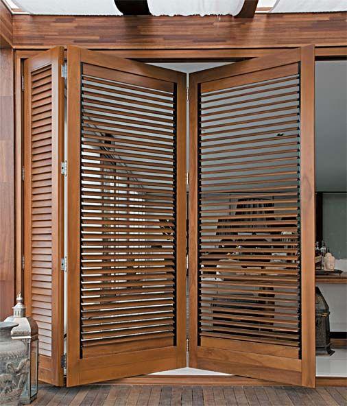 12 modelos de portas feitos sob medida Lindo, Casas y Ventana
