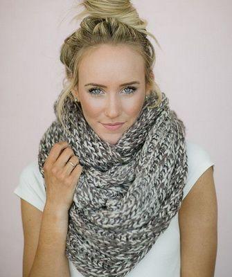 модные шарфы 2017 2018 года фото моды на осень зиму какие шарфы