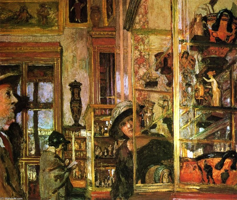 Edouard-Vuillard-_Ceramics-also-known-as-Display-Cases-in-the-Louvre-_.JPG es.wahooart.com830 × 700Buscar por imagen grisalla de Edouard Vuillard (1868-1940, France)   Edouard Vuillard - Buscar con Google