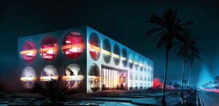 Showroom And Leisure Center Manuelle Gautrand Architecture