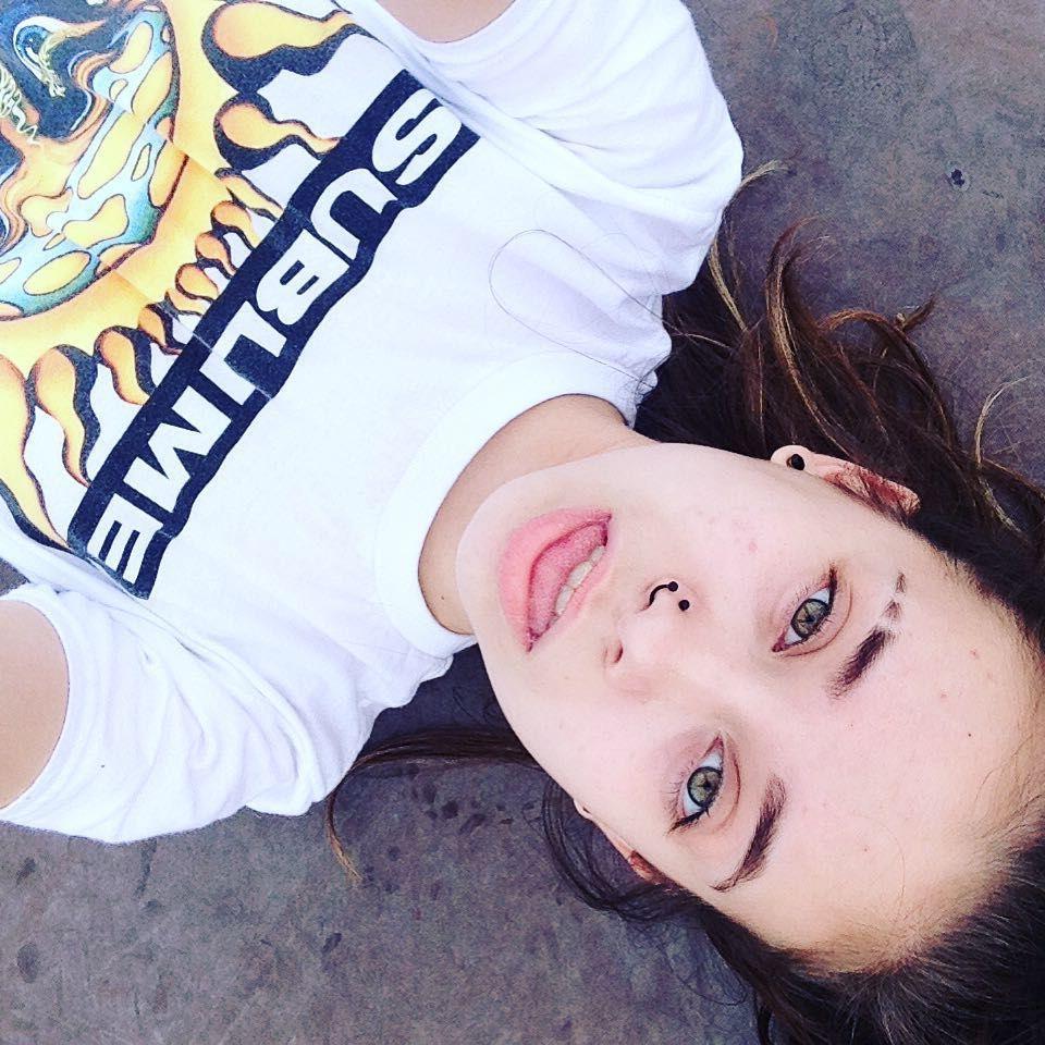 Band Music Nomakeup Nosering Selfie Sublime Selfie Nomakeup Nosering Sublime Band Music Selfie Noma Hazel Eyes Eyebrow Slits Sublime Band