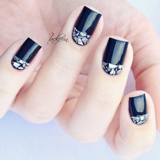 21 Simple Nail Designs For Short Nails To Do At Home Short Nails