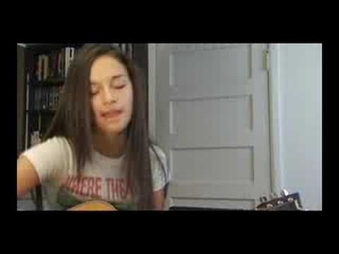 A beautiful young woman covering Modest Mouse\'s \