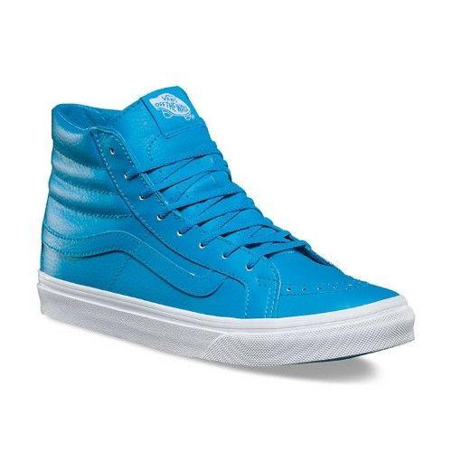 cf49deccaa6229 Vans Neon Leather SK8-HI Slim Mens sneakers VN0A32R2MXQ