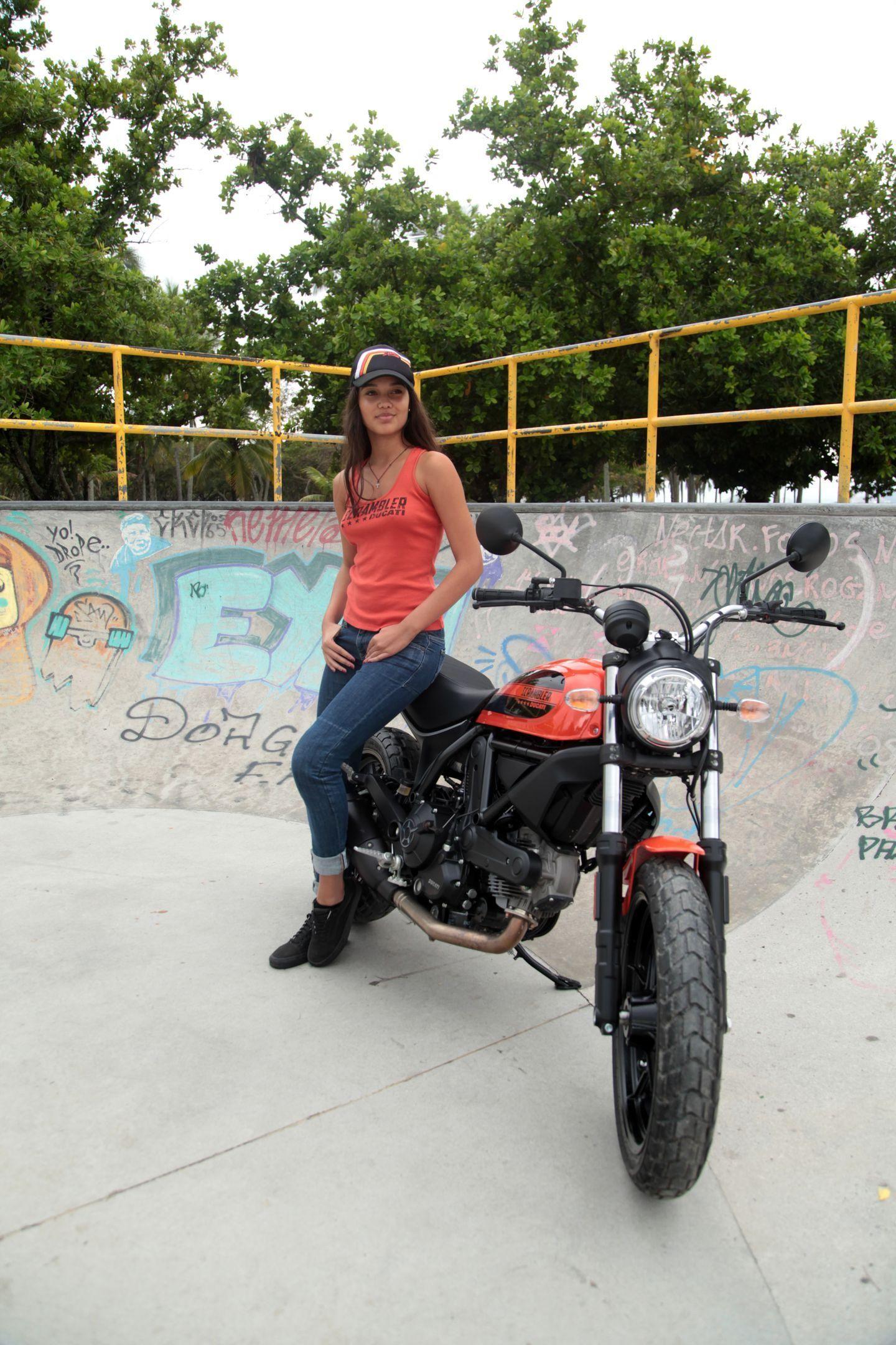 Ducati Scrambler Sixty2 4 Woman Ride Too Sucker Ducati Scrambler