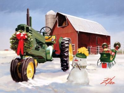 John Deere Christmas On The Farm