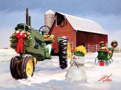 John Deere Christmas On The Farm
