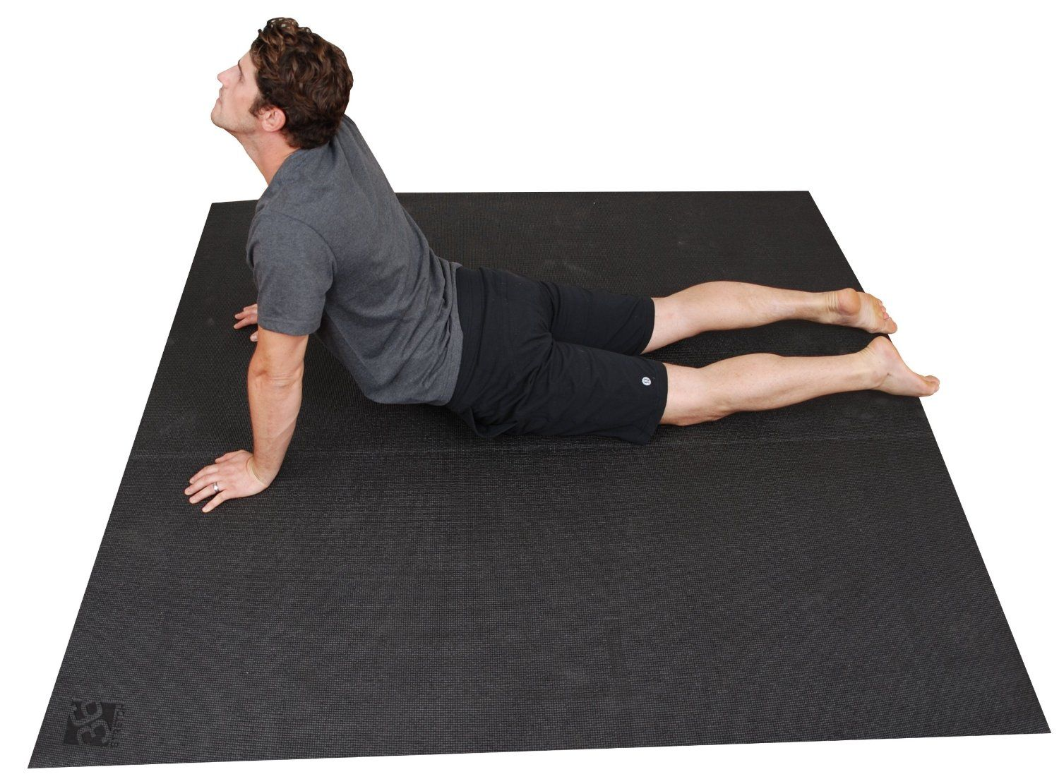 Large Yoga Mat Extra Long, Extra Wide, 72
