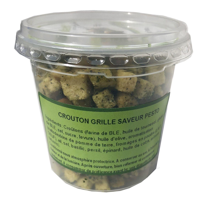 Croutons Saveur Pesto Croustisalad By 2vd Le Pot De 55 G A Prix