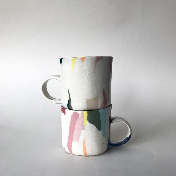 Handmade ceramic mugs #ceramicmugs