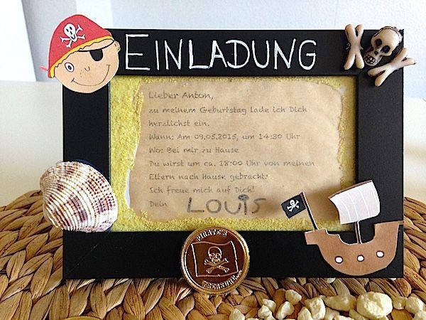 Einladungskarte Selber Basteln Für Den Kindergeburtstag