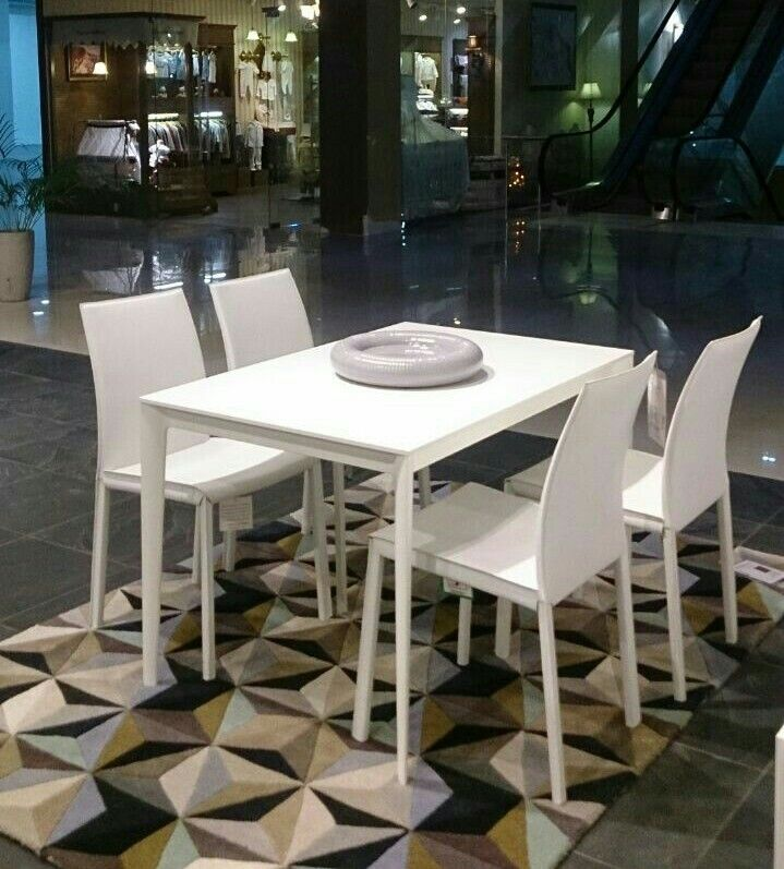 BoConcept Milano dining table and Zarra chairs in Sarasota FL