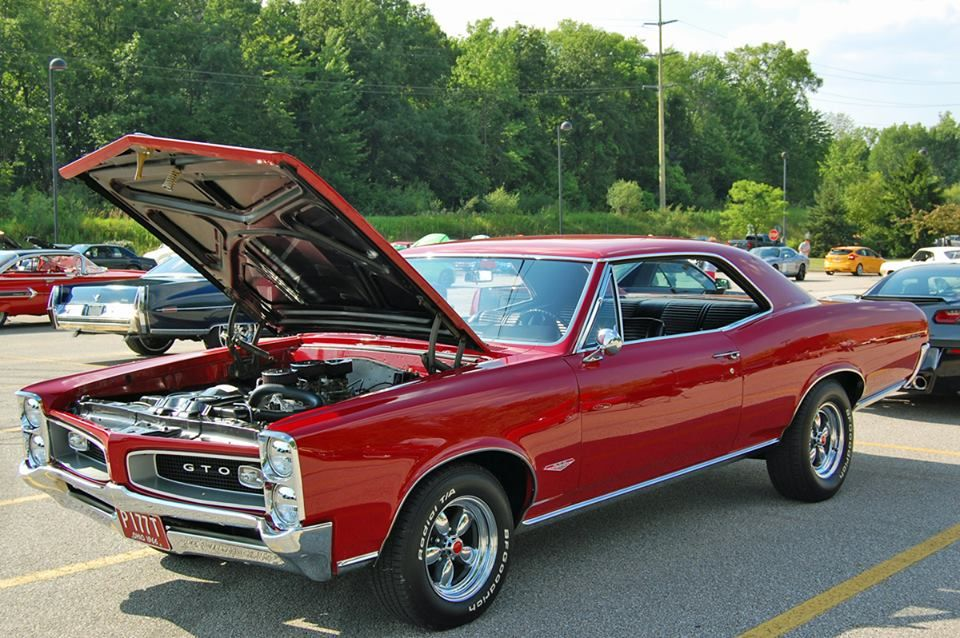 1966 Pontiac GTO 389 Tri-Power! | American Muscle Cars | Pinterest ...