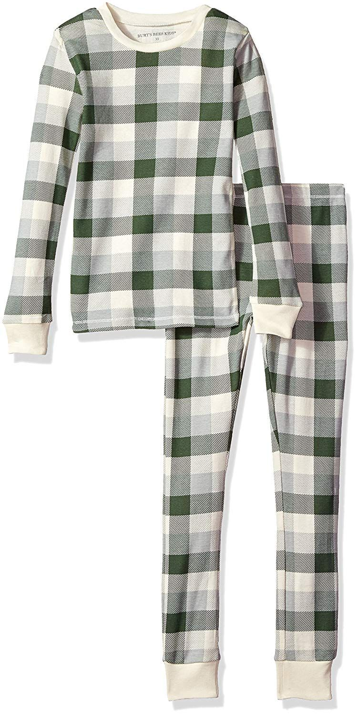 48f01838f Amazon.com: Burt's Bees Baby 100% Organic Cotton 2-Piece Holiday Pajama  Set: Clothing