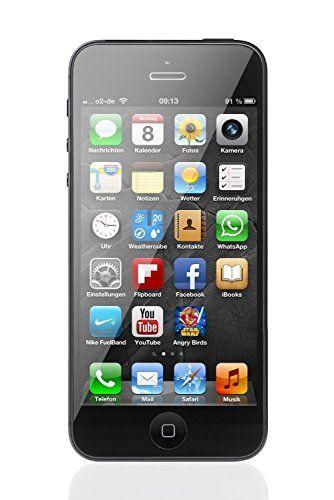 Amazon Com Apple Iphone 5 Cellphone 16gb Black At T Cell Phones Accessories Apple Iphone 5 Apple Iphone Iphone