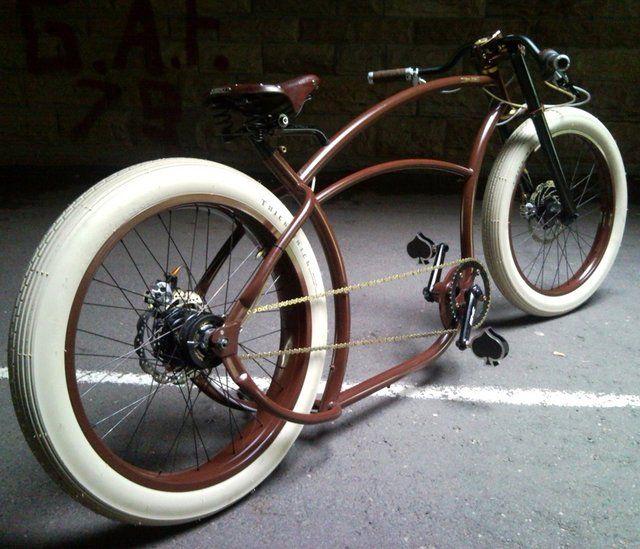 basman cappuccino racer bicycles cruiser chopper. Black Bedroom Furniture Sets. Home Design Ideas
