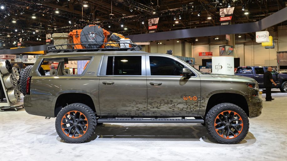 Luke Bryan Chevy Suburban Is A Rolling Hunting Blind Chevy Suburban Chevy Chevy Tahoe