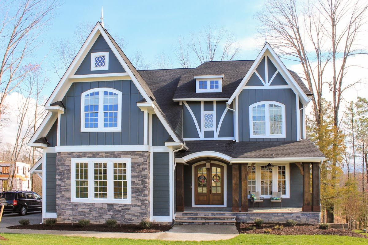 Plan 500065vv Exclusive Tudor House Plan With Walk Out Basement Option Tudor House Tudor House Exterior House Plans