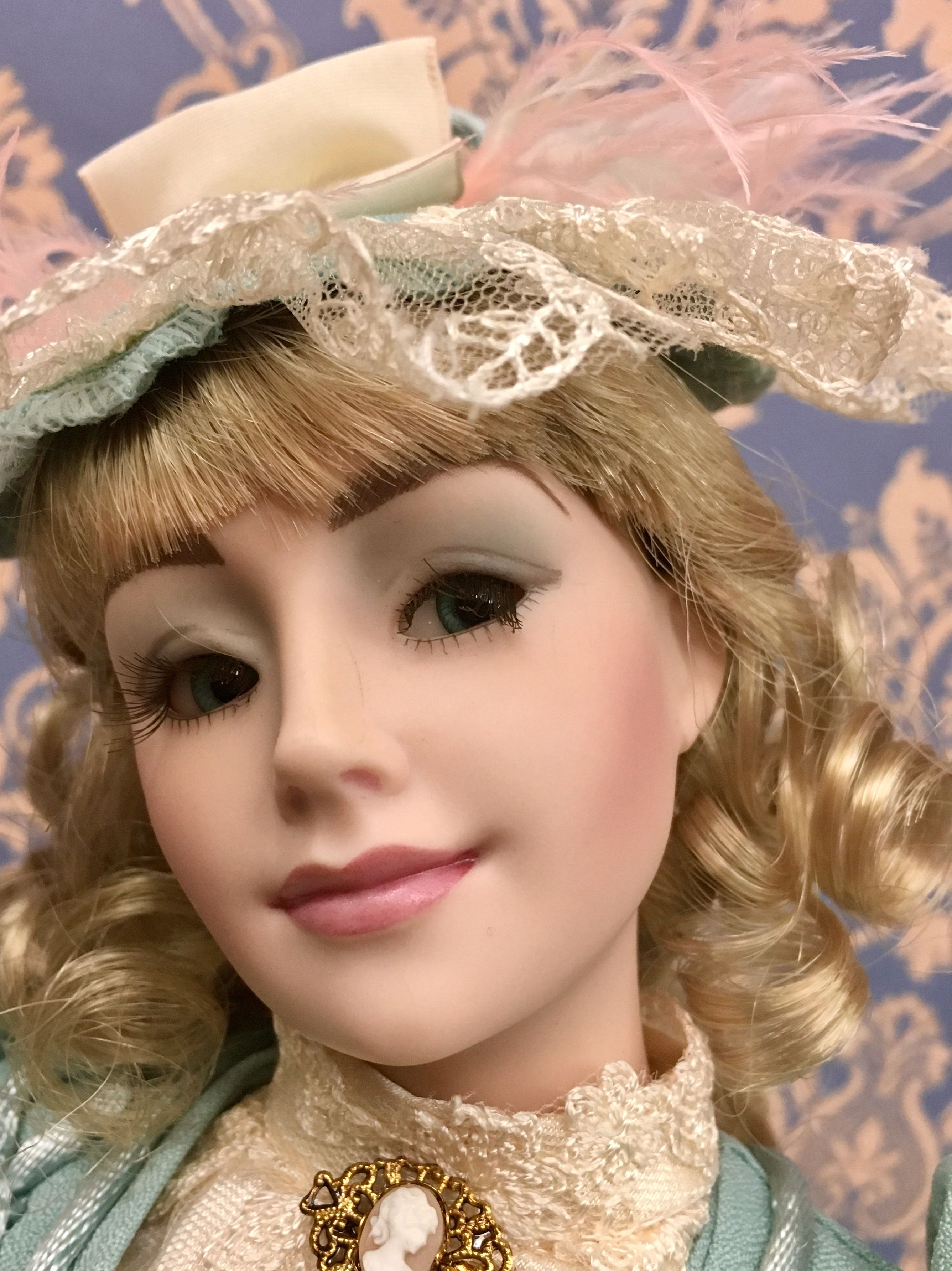 Movie girl finds porcelain doll, fairy wings for adults