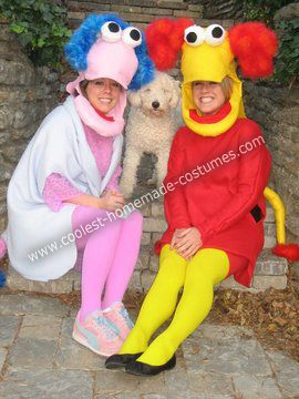 coolest homemade fraggle rock couple costumes - Fraggle Rock Halloween Costumes