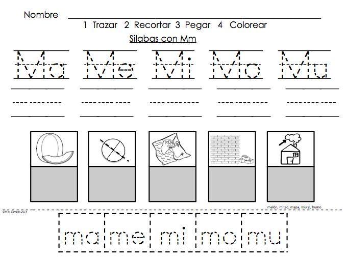 consonante m para colorear - Buscar con Google   Ideas para el hogar ...