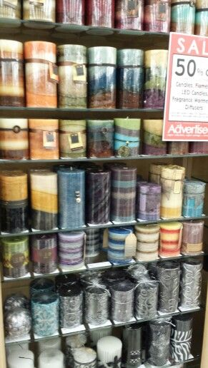 Every Color And Style Candle On Sale At Hobby Lobby My Decor Style