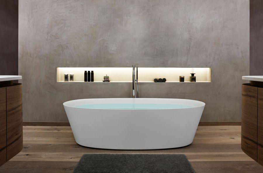 Badezimmer Ideen Freistehende Badewanne Mit Bildern