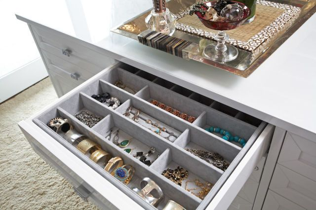 11 Ways To Create A Luxurious Closet For Less Jewelry drawer