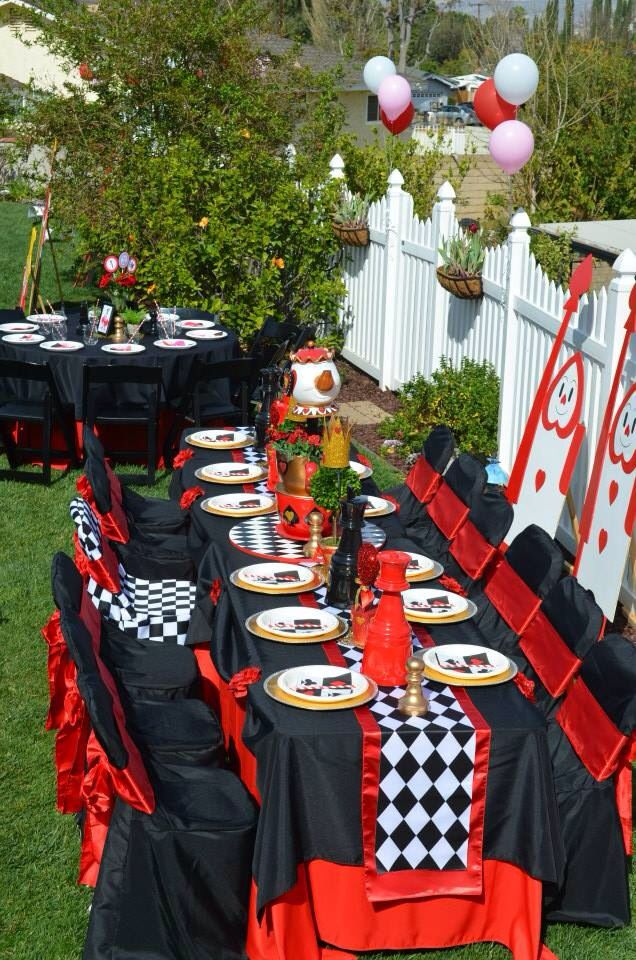 Queen Of Hearts Birthday Party Party Time In 2019