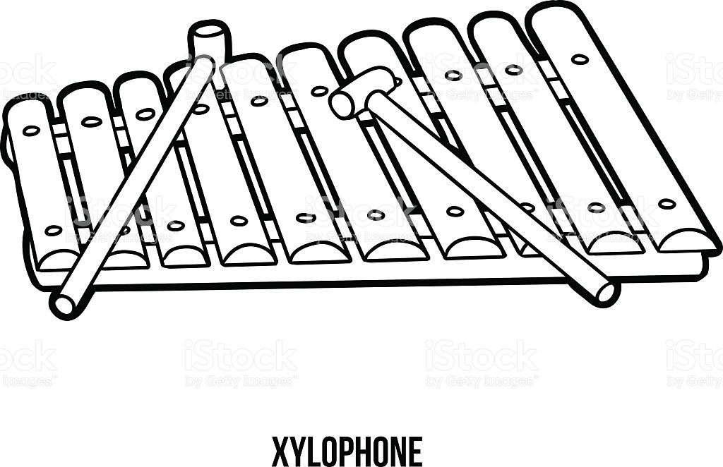 Line Art Xylophone : Image result for xylophone drawing preschool music