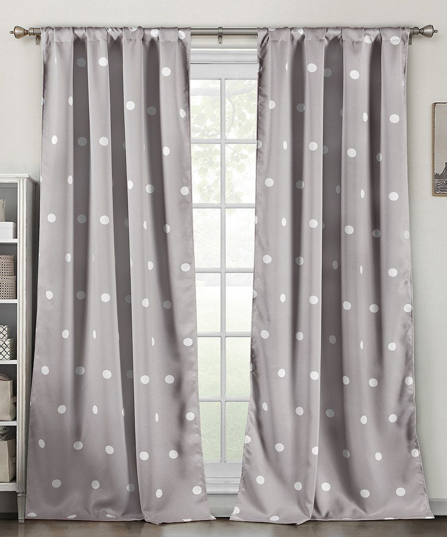 Gray curtains bedroom look at this gray dottie blackout heavy curtain panel  set of two