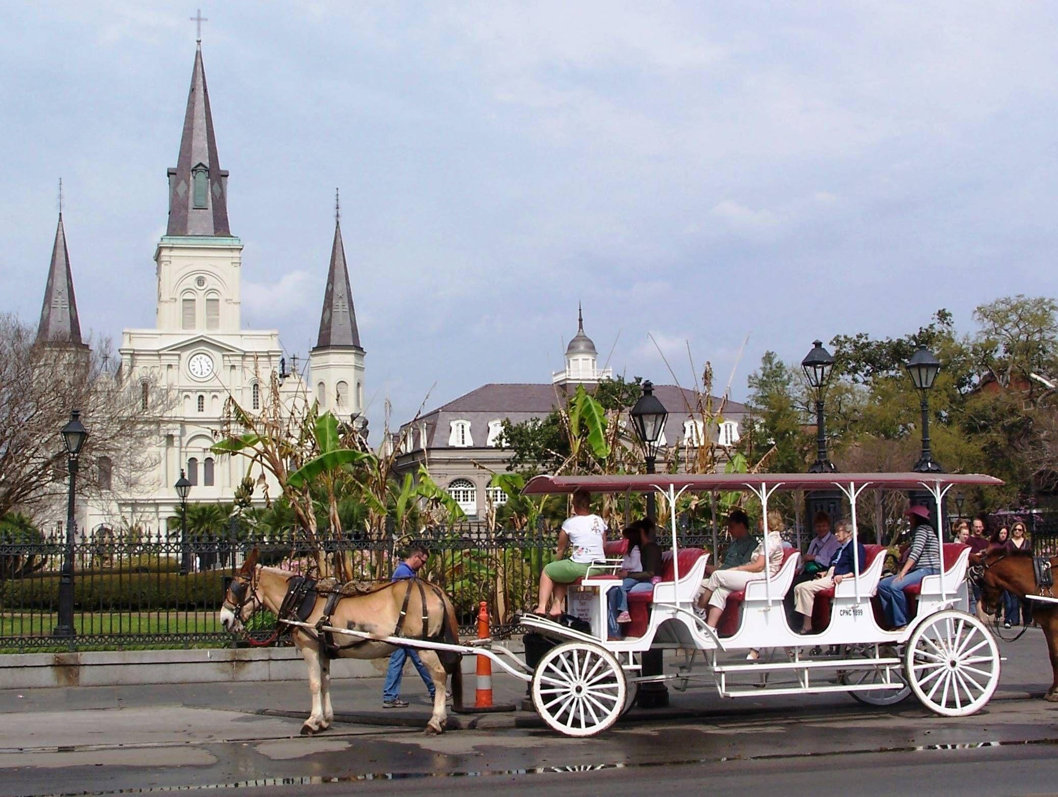 Visit New Orleans, Tourist Places