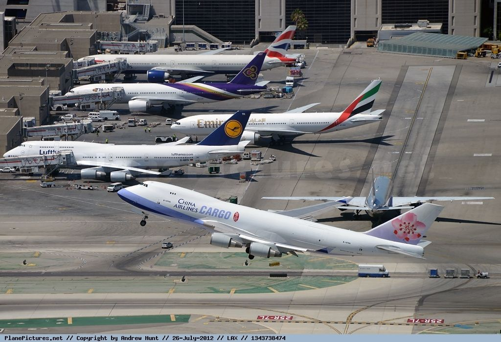 Photo China Airlines Cargo Boeing 747409F(SCD) B18716