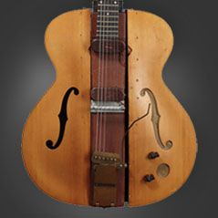 Around 1946 The Very First Solid Body Electric Guitar Designed And