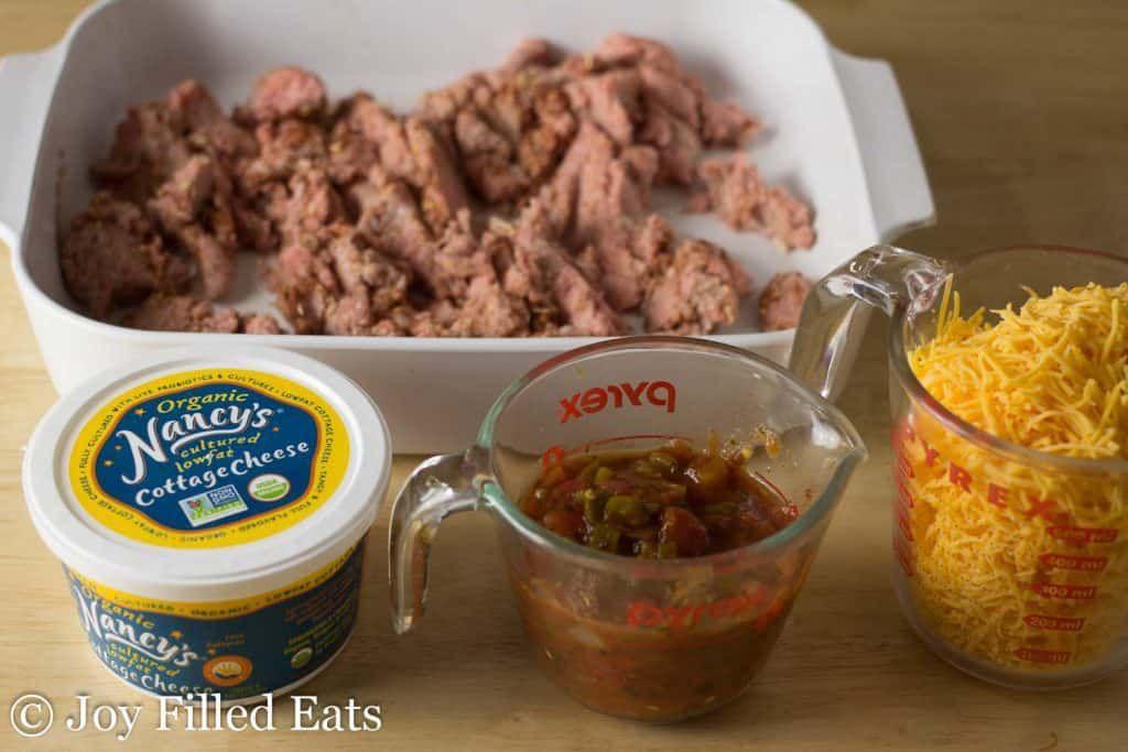 Easy mexican taco casserole keto low carb grain