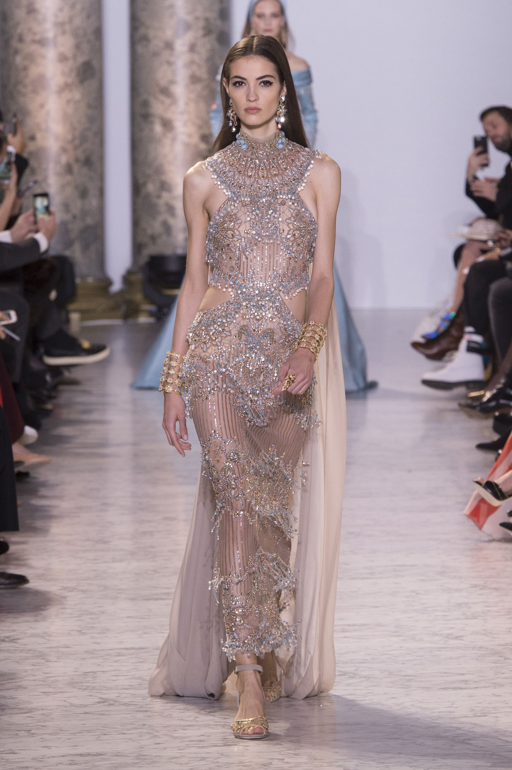 All The Looks From Elie Saab Spring Summer Couture 2017 Collection